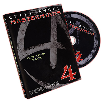 Masterminds (Got Your Back) Vol. 4 by Criss Angel - DVD