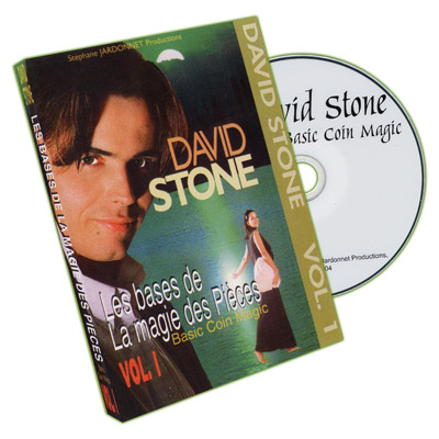 >Basic Coin Magic - Vol.1 by David Stone - DVD