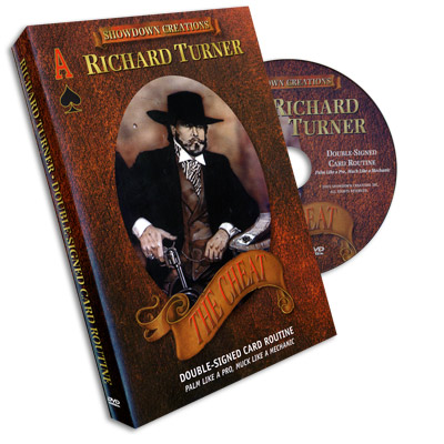 >Double Signed Card Routine by Richard Turner - DVD